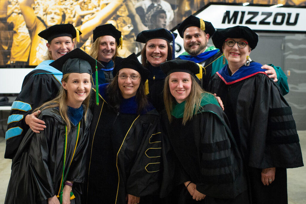 Occupational Therapy Faculty at Commencement